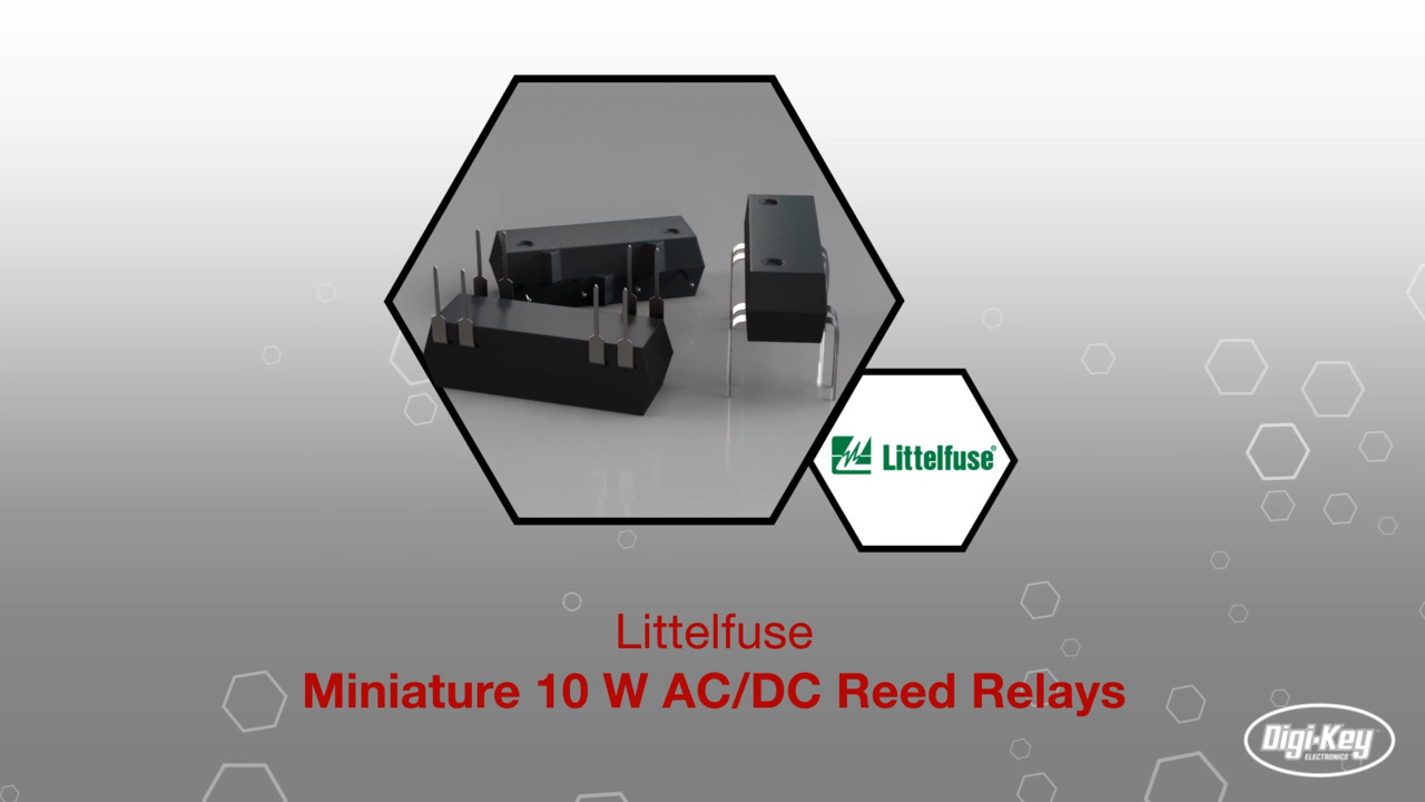 Reed Relay | Datasheet Preview