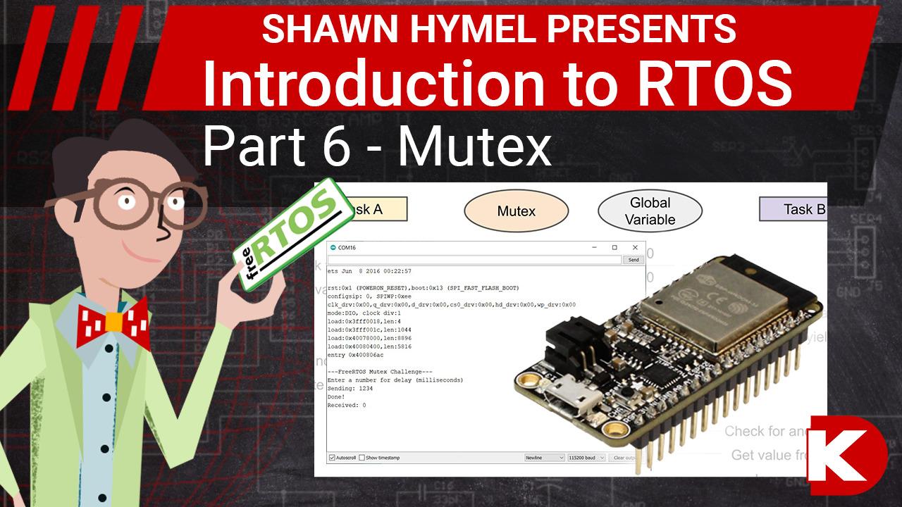 Introduction to RTOS Part 6 - Mutex | Digi-Key Electronics