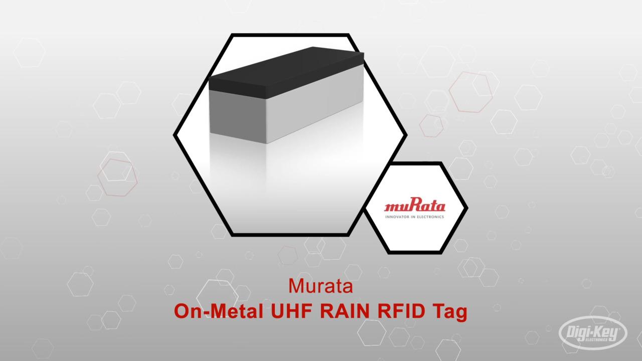 On-Metal UHF RAIN RFID Tag | Datasheet Preview