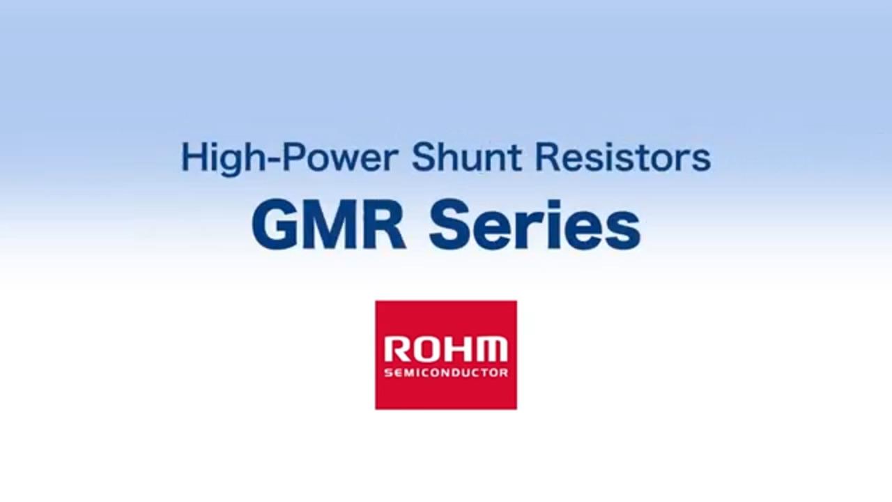 High Power Shunt Resistors   GMR Series