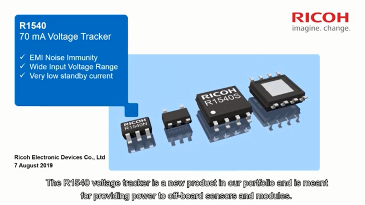 High Noise Immunity Voltage Tracker R1540