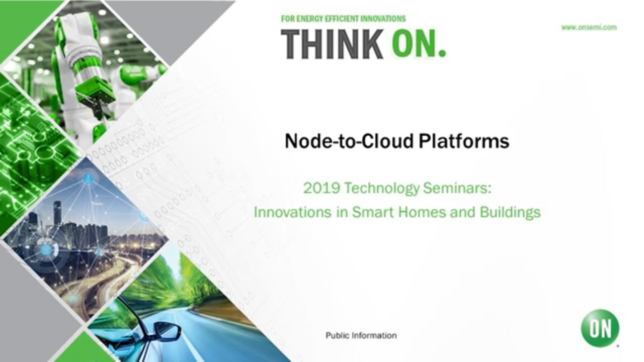 Node-to-Cloud Platforms | 2019 Technology Seminar – IoT