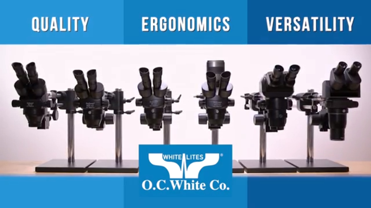 O.C. White's Microscopes