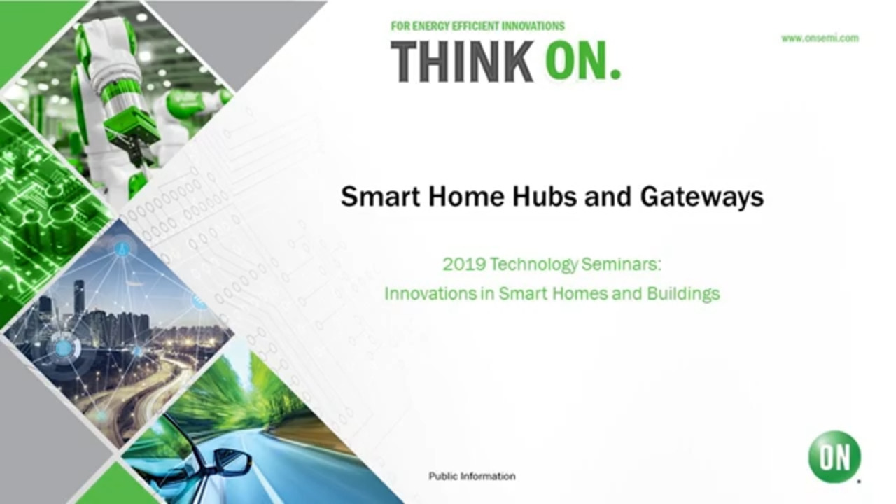 Smart Home Hubs and Gateways | 2019 Technology Seminar – IoT