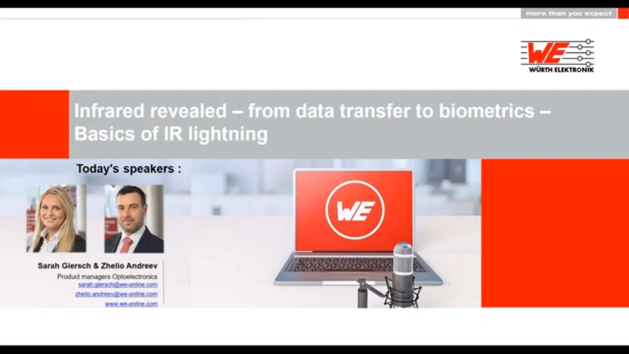 WEbinar Powered by Digi-Key: Infrared and Photodetectors