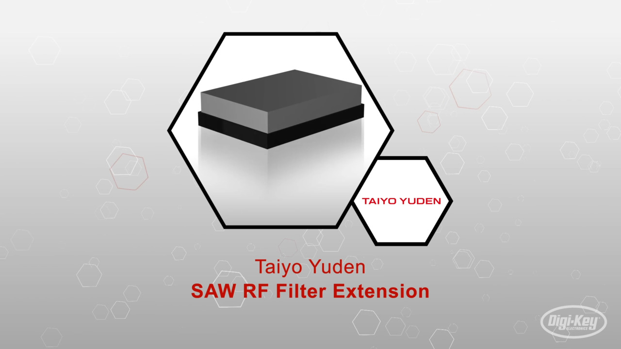 SAW RF Filter Extension | Datasheet Preview