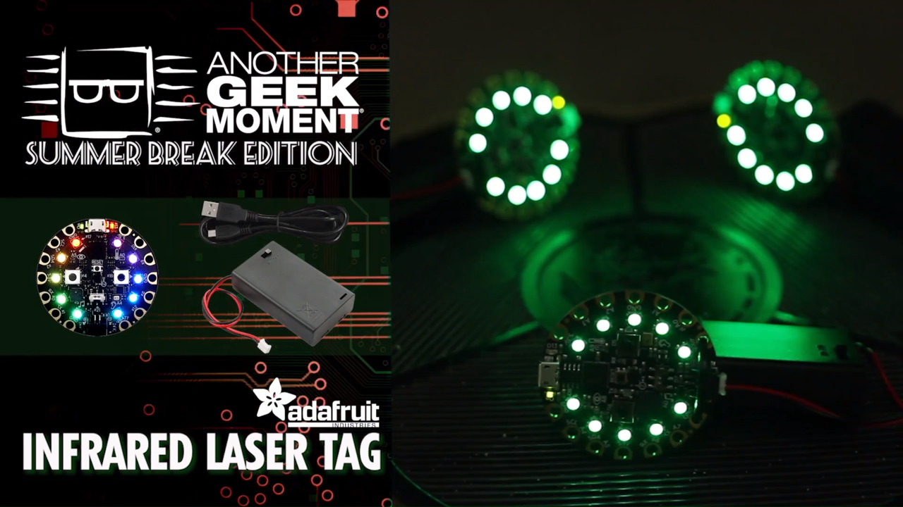 Infrared Laser Tag – AGM Summer Break | DigiKey
