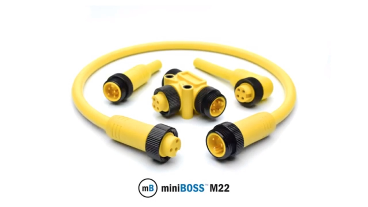 Amphenol Sine Systems - We've Got the YELLOW You Need!