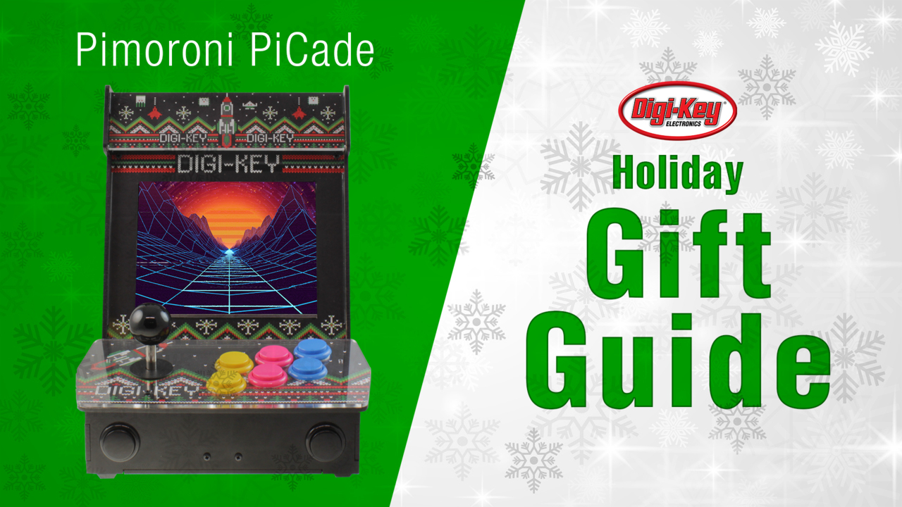 Holiday Gift Guide 2018 – Pimoroni PiCade | DigiKey