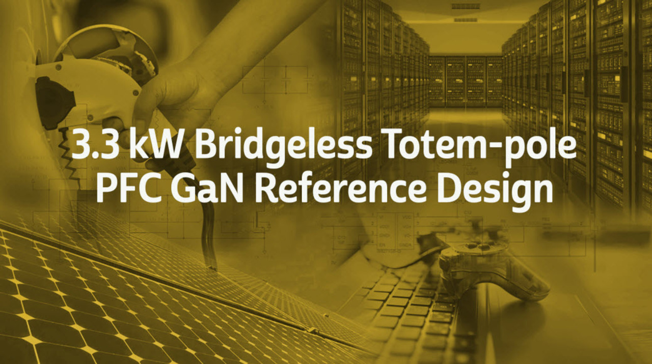Reference Design 3300 W Bridgeless Totem Pole PFC Animation
