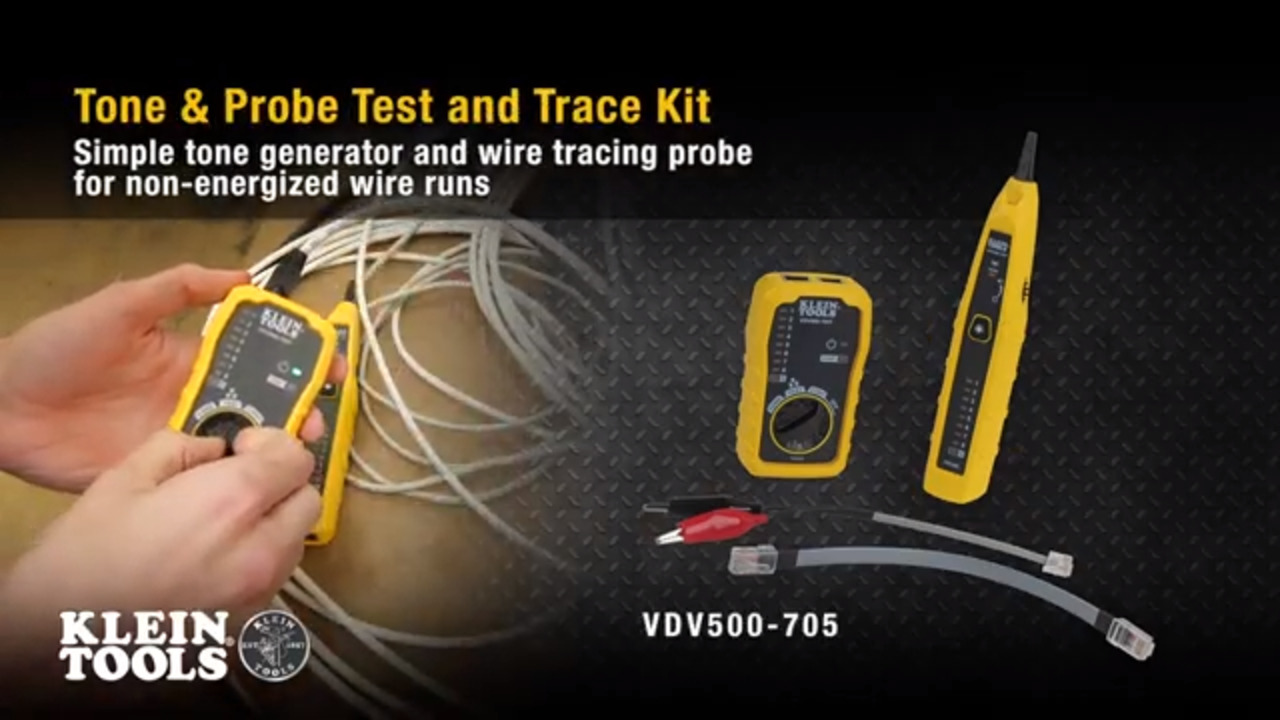 Tone & Probe Test and Trace Kit