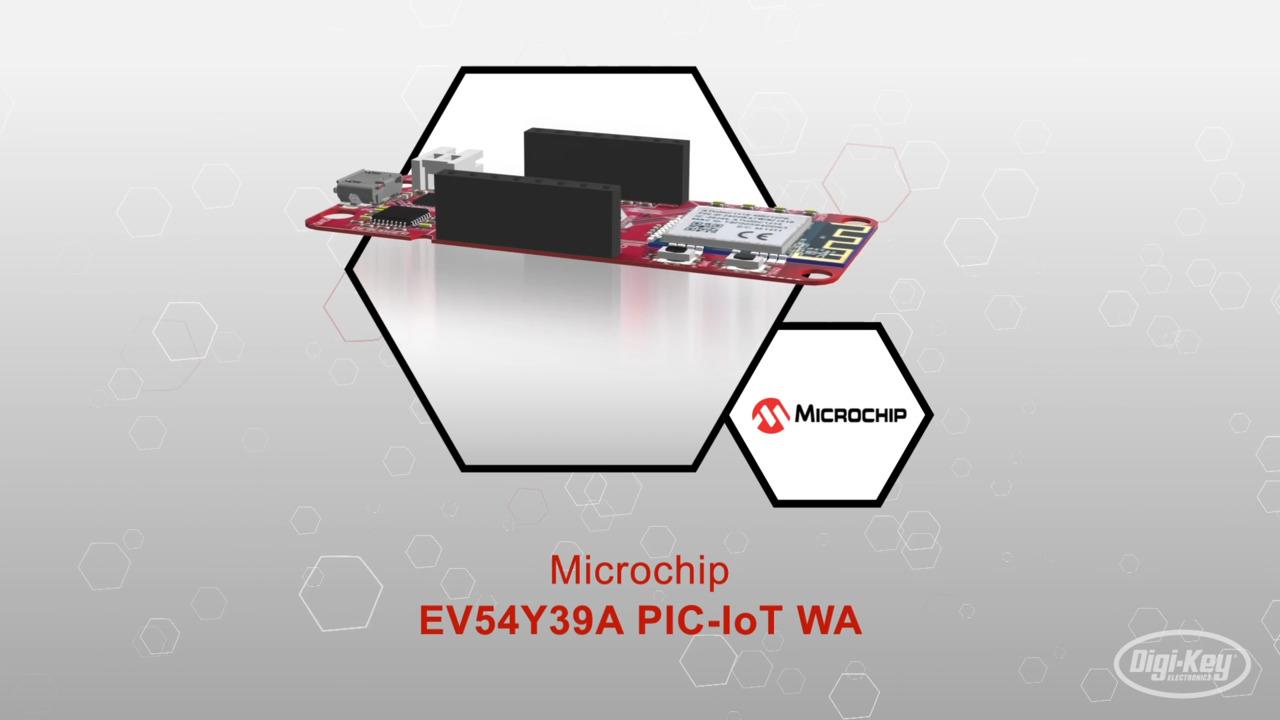 EV54Y39A PIC-IoT WA Entwicklungsboard | Datasheet Preview
