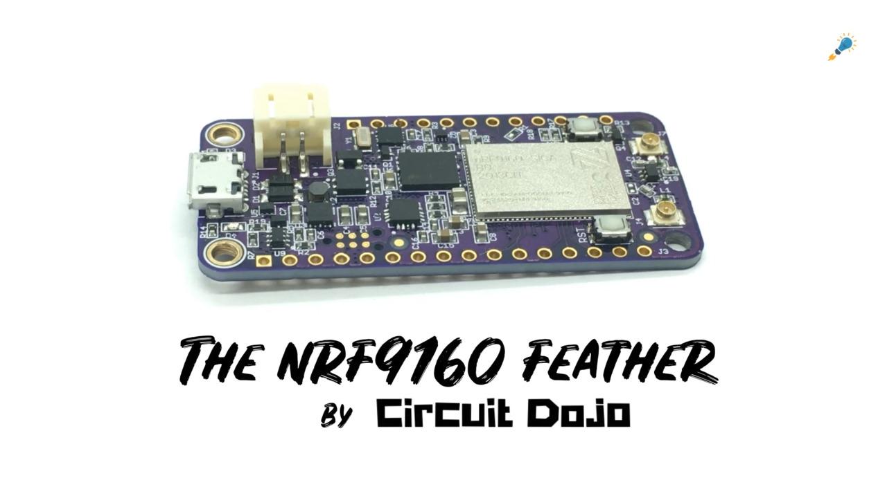 nRF9160 Feather