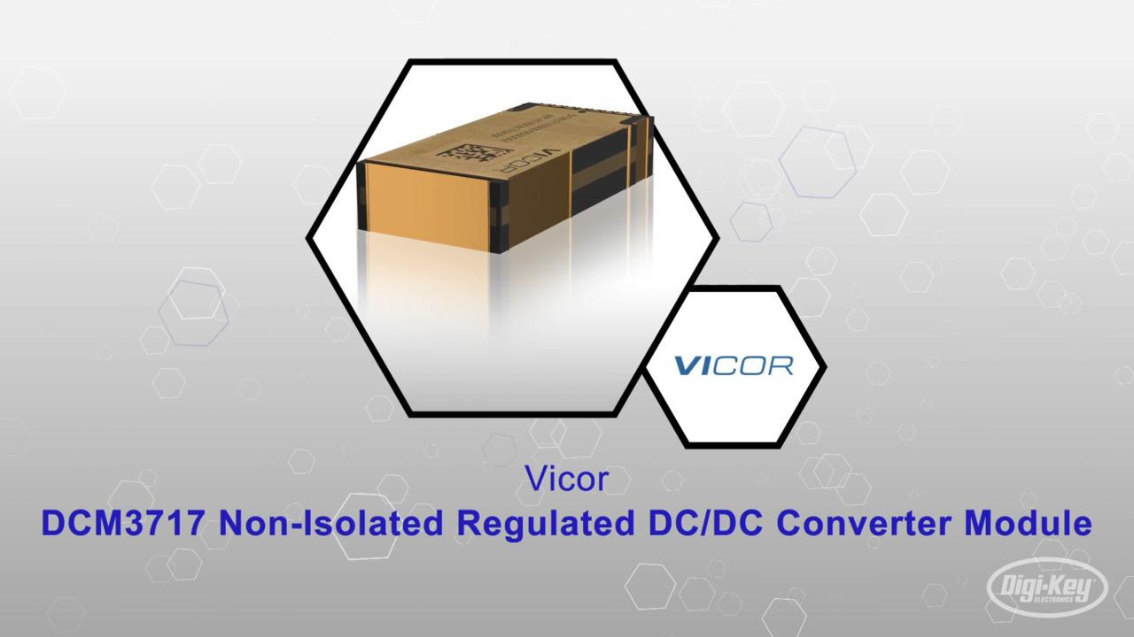 DCM3717 DC/DC Converter Module | Datasheet Preview
