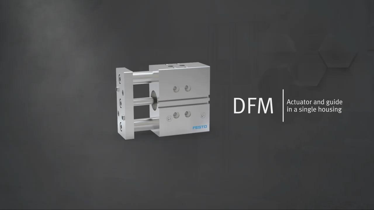 Festo Product Spotlight – DFM Guided Actuator