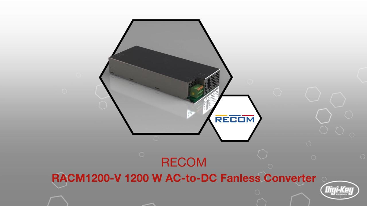 RACM1200-V Series AC/DC Converters  | Datasheet Preview