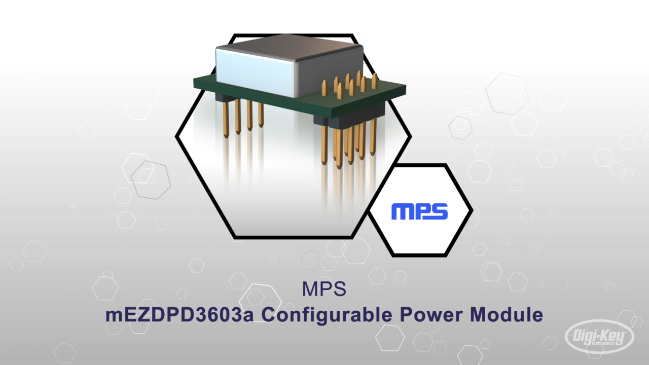 MPS Configurable Power Modules | Datasheet Preview