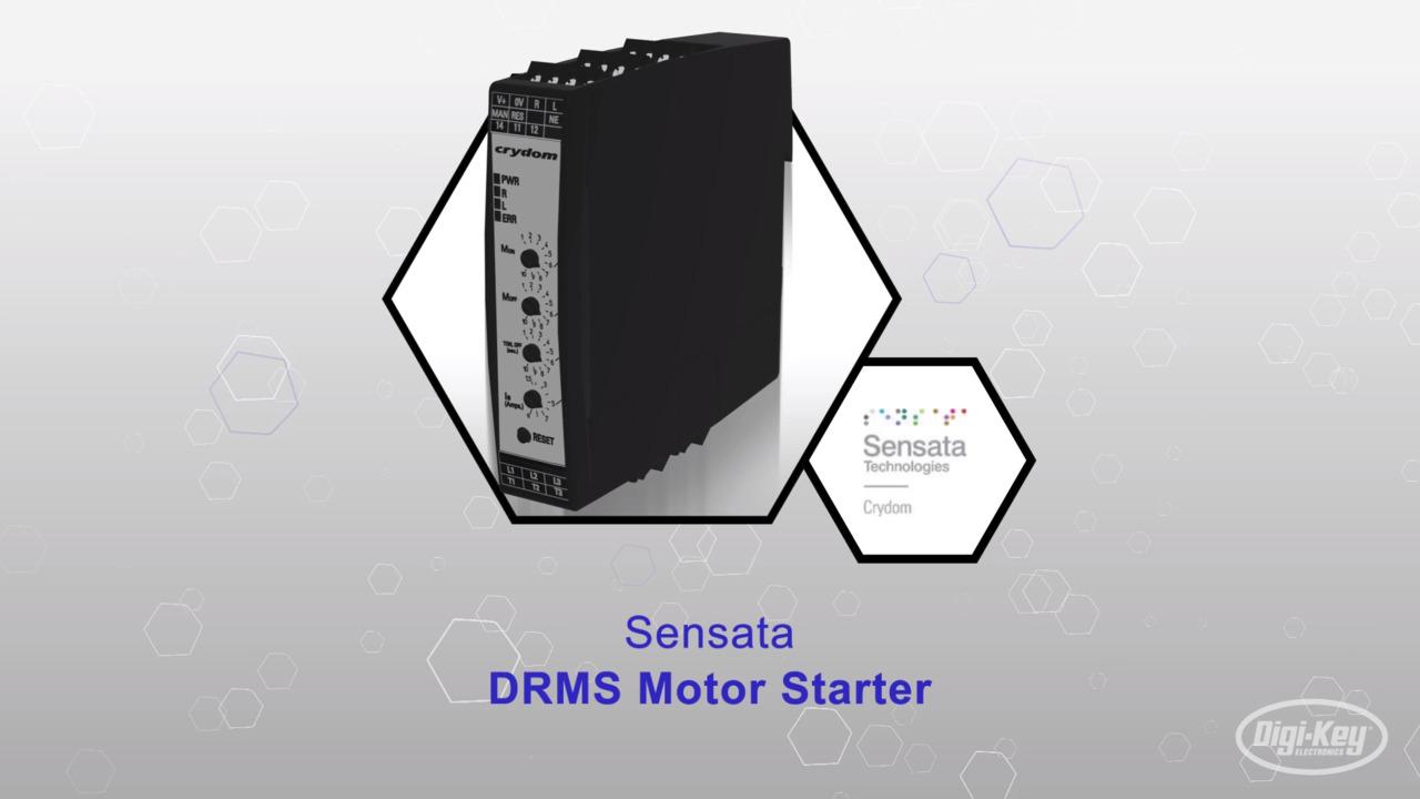 DRMS Motor Starter | Datasheet Preview