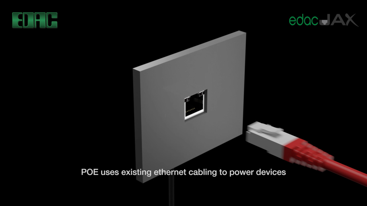Let EDAC Magnetic Jacks with POE power your world!