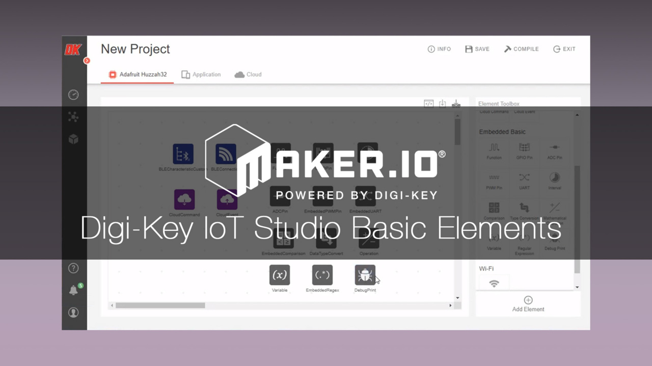 Digi-Key IoT Studio Basics