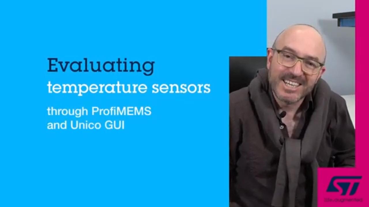 Evaluating Temperature Sensors through ProfiMEMS and Unico GUI