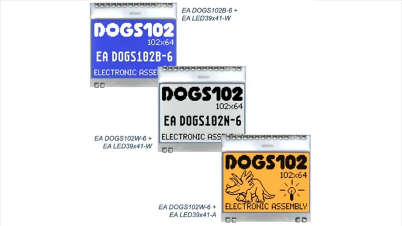 EYE on NPI - Display Visions DOGS102N-6 Display #EyeOnNPI #DigiKey @DigiKey @Adafruit
