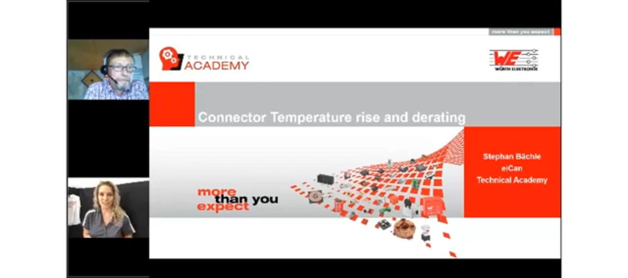 WEbinar Powered by Digi-Key: Temperature Rise and Derating of Connectors