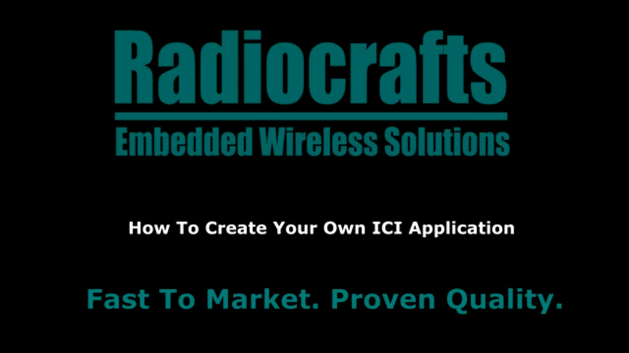 How To Get Started With RIIM Part 3 - How To Create Your Own ICI Application
