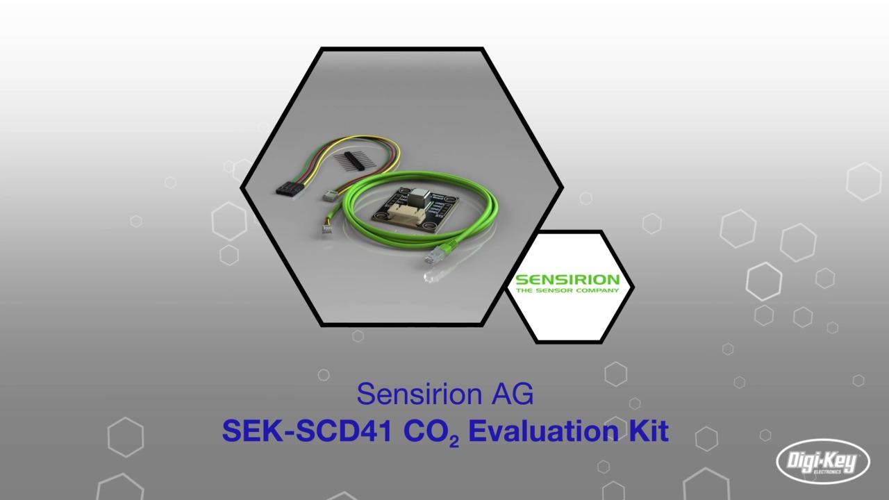 CO2 Evaluation Kit SEK-SCD41 | Datasheet Preview