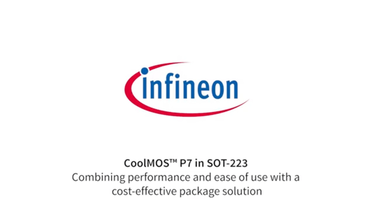 CoolMOS™ P7 in SOT-223: Combining performance and ease of use