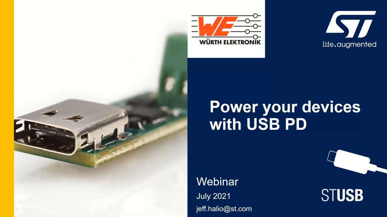 WEbinar Powered by Digi-Key: Migration to USB-C