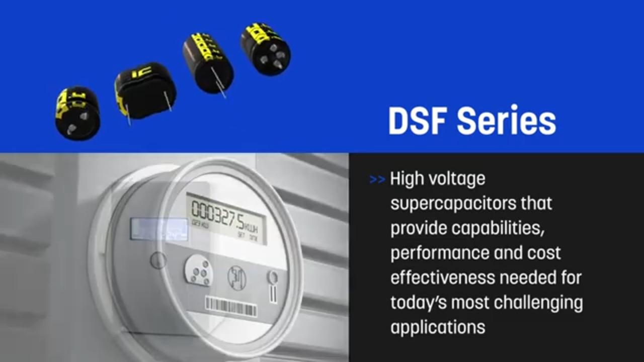 DSF Series Supercapacitors