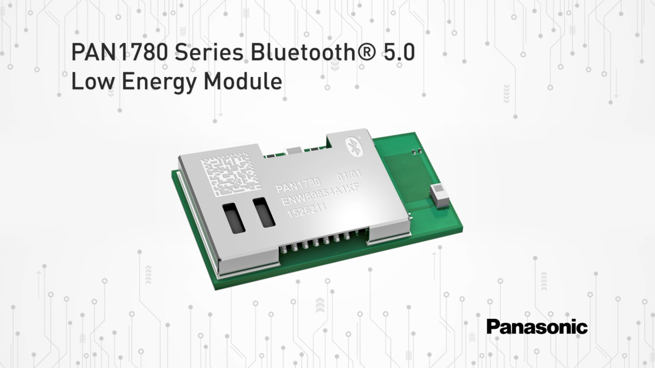 PAN1780 Series Bluetooth 5.0 Low Energy RF Module