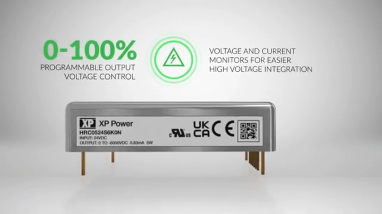 HRC05 Series – High Voltage DC-DC Converters