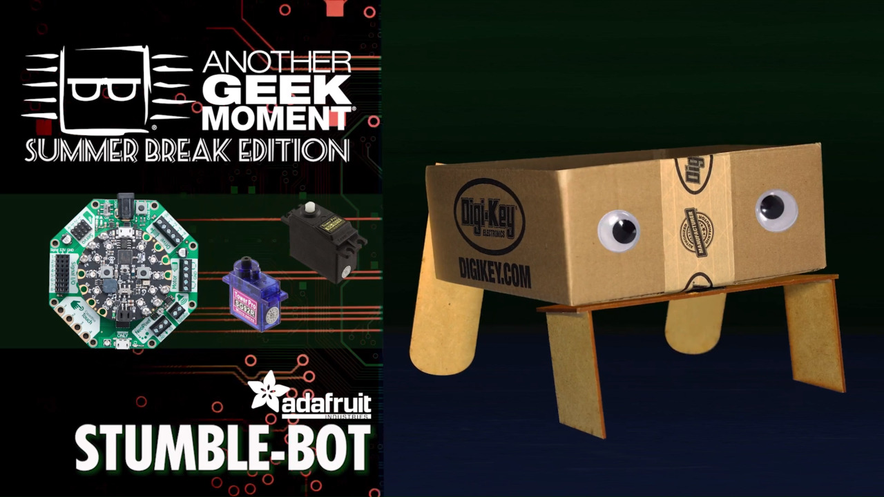 Stumble-Bot – AGM Summer Break | DigiKey