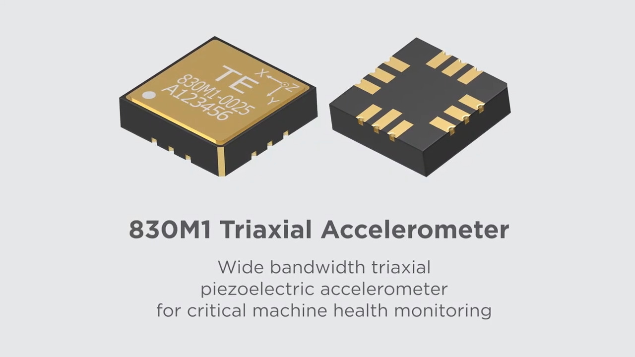 830M1 Embedded Triaxial Accelerometer