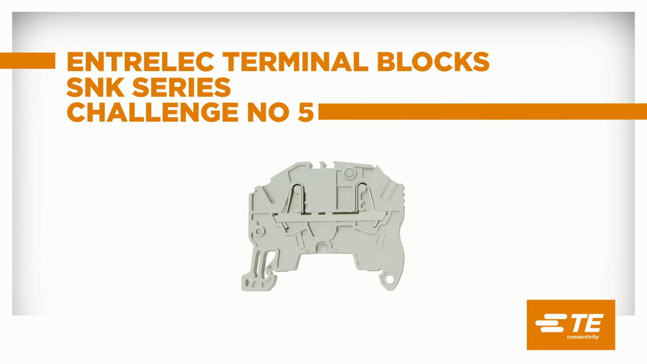 Episode 5: SNK series terminal blocks mounting is a child's play