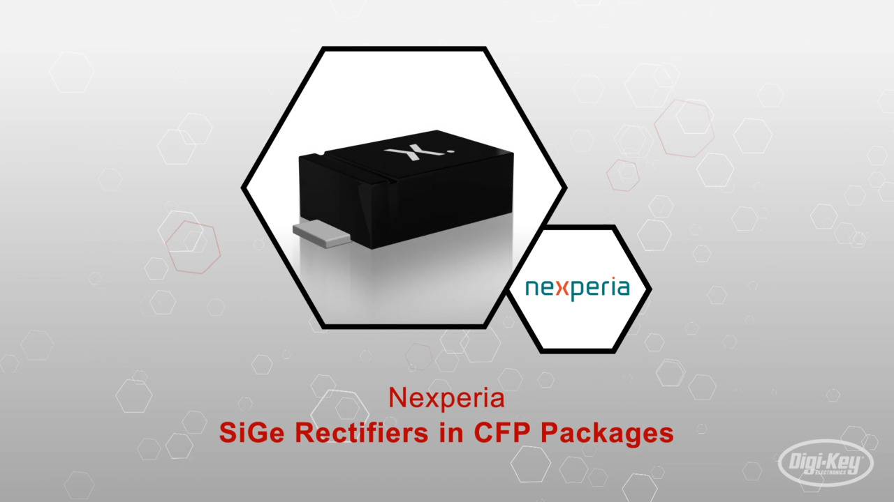 Sige Rectifiers in CFP Packages | Datasheet Preview