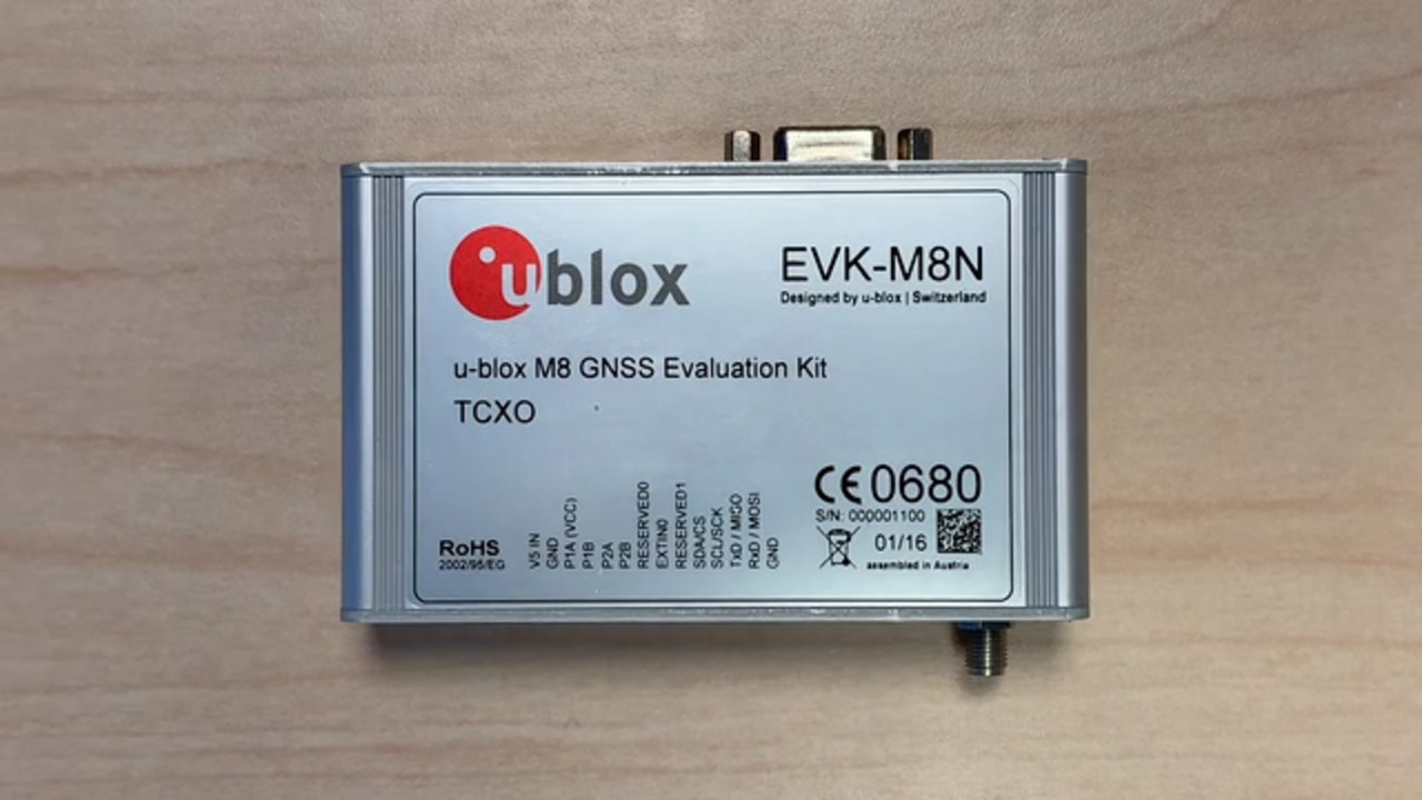 How to Update the Firmware on U-Blox GNSS Receiver