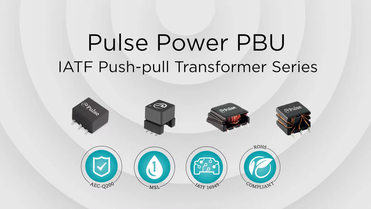 IATF Certified Push-Pull Transformers