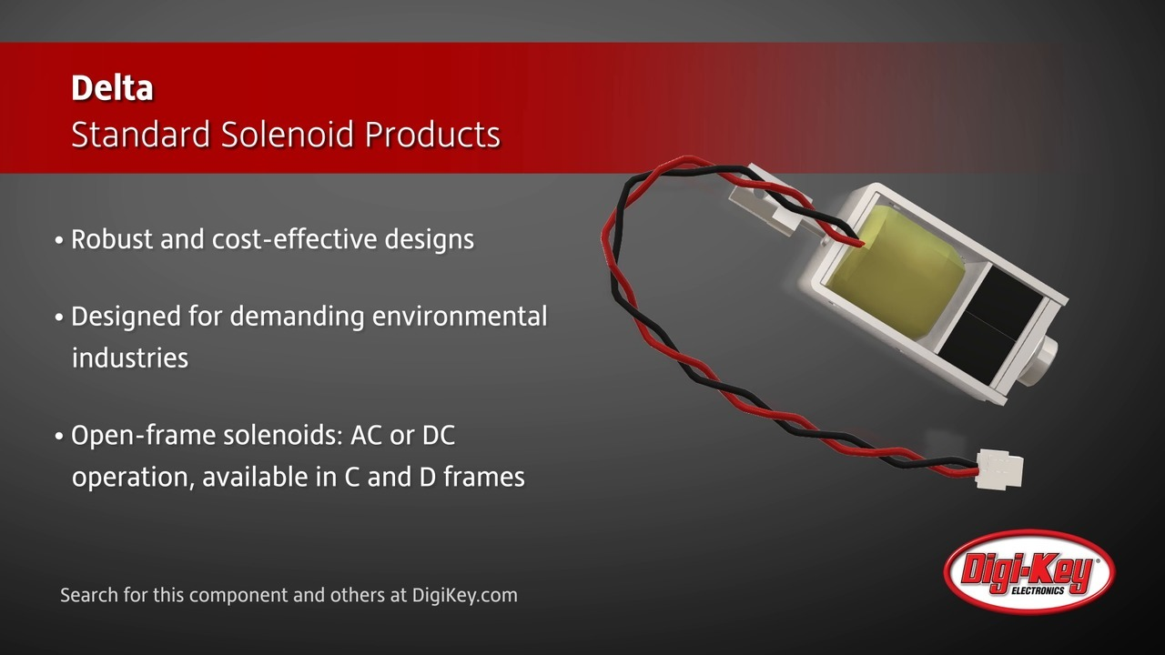 Delta Standard Solenoid Products | Digi-Key Daily