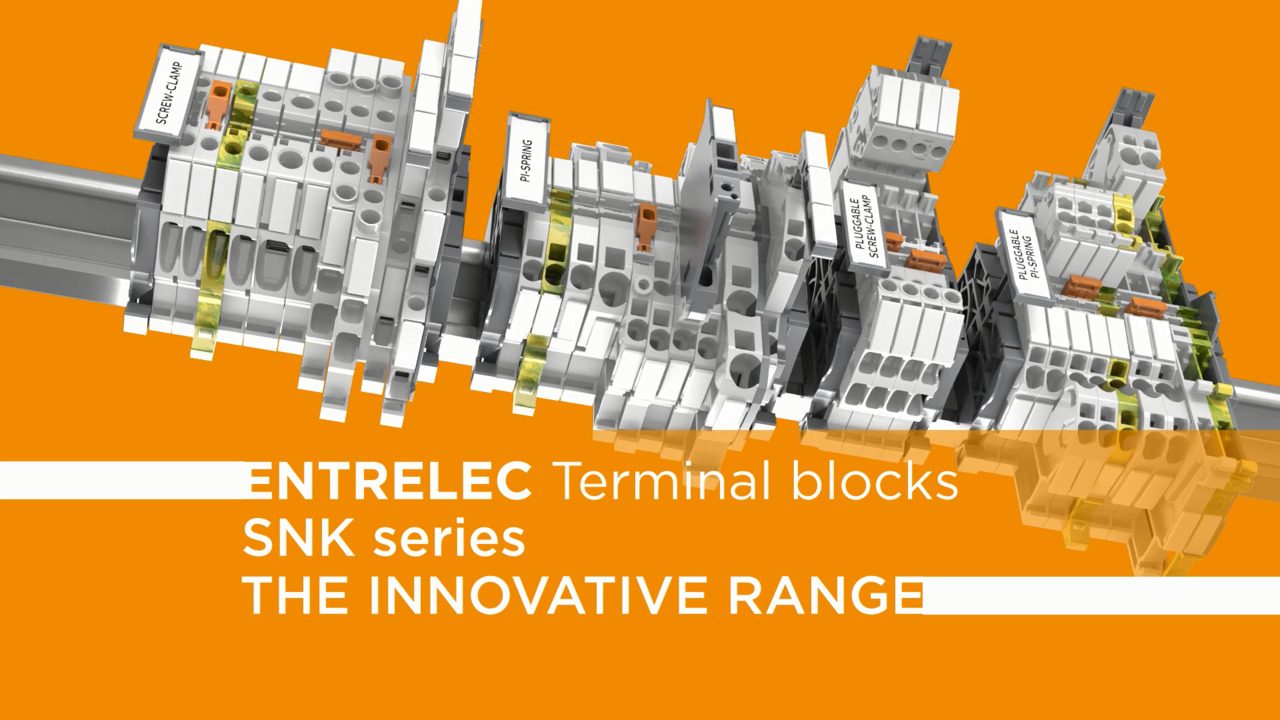 ENTRELEC Terminal Blocks - SNK Series