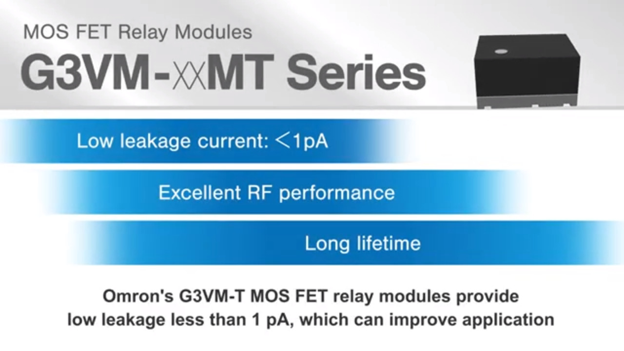 Omron G3VM-21MT MOS FET Relay Module
