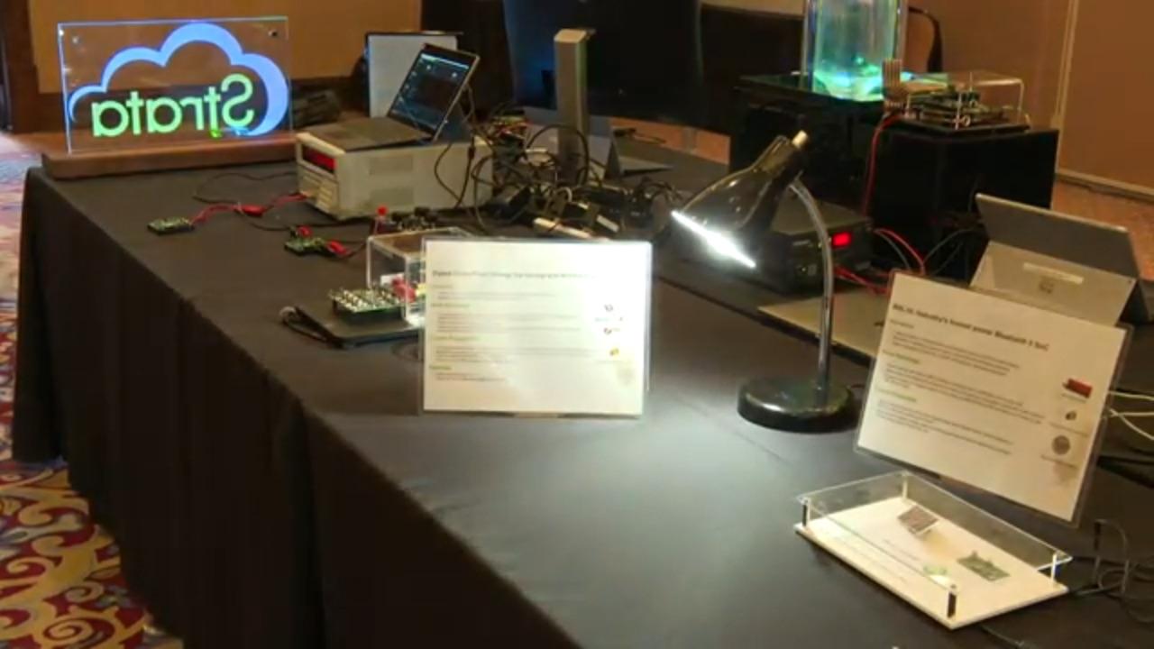 Energy Harvesting using Zigbee™ Green Power and Bluetooth® Low Energy