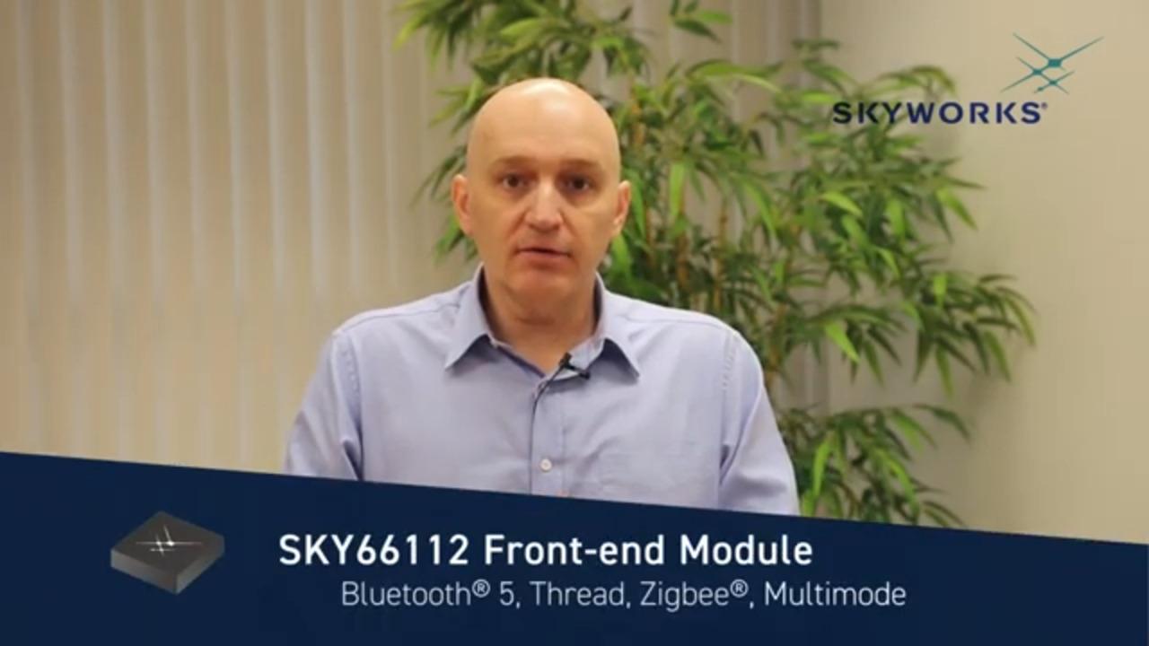 SKY66112-11; 802.15.4, ZigBee®/Thread/Bluetooth® 5, Front-End Module