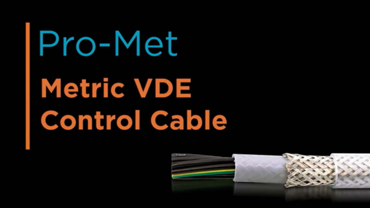 Pro-Met: Metric VDE Control Cable