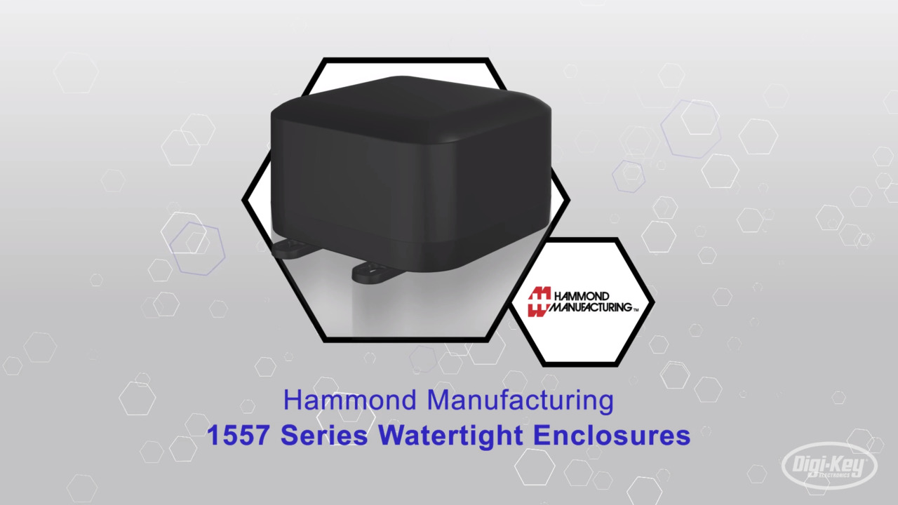 Hammond Manufacturing 1557 Series Watertight Enclosures | Datasheet Preview
