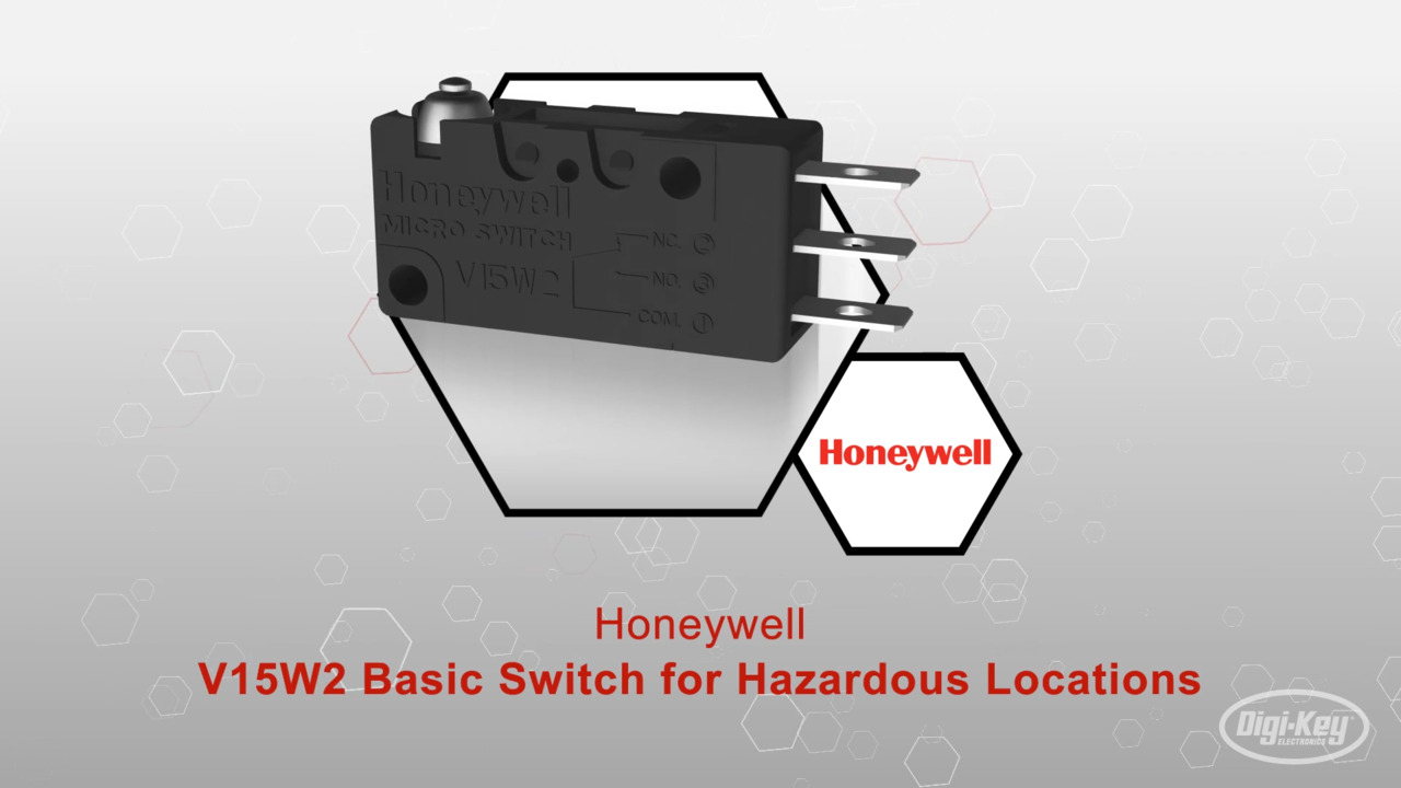 V15W2 Basic Switch for Hazardous Locations | Datasheet Preview