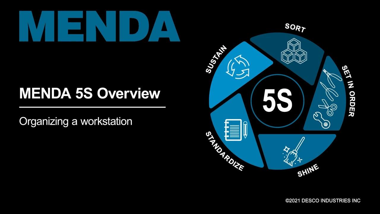 MENDA - 5S Workstation Organization Demo