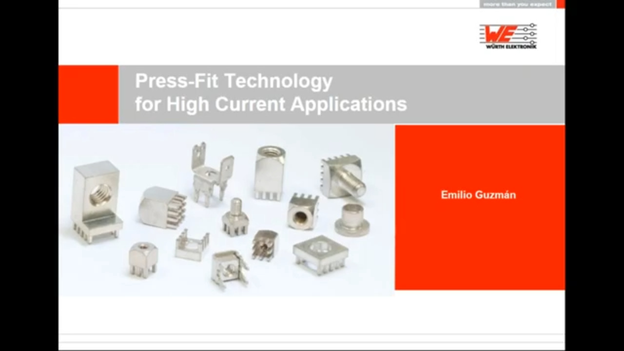 WEbinar Powered by Digi-Key - REDCUBE: The Most Reliable High-Power Contact on PCB Level